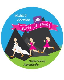 Maids of Dishonor Ragnar Adirondacks Relay Team